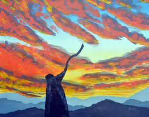 shofar-at-sunset-batel-yehezkel